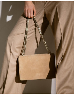 SOPHIE - Our iconic shoulder bag in colour Diano and Silver chain  #agneel #sophie #shoulderbag