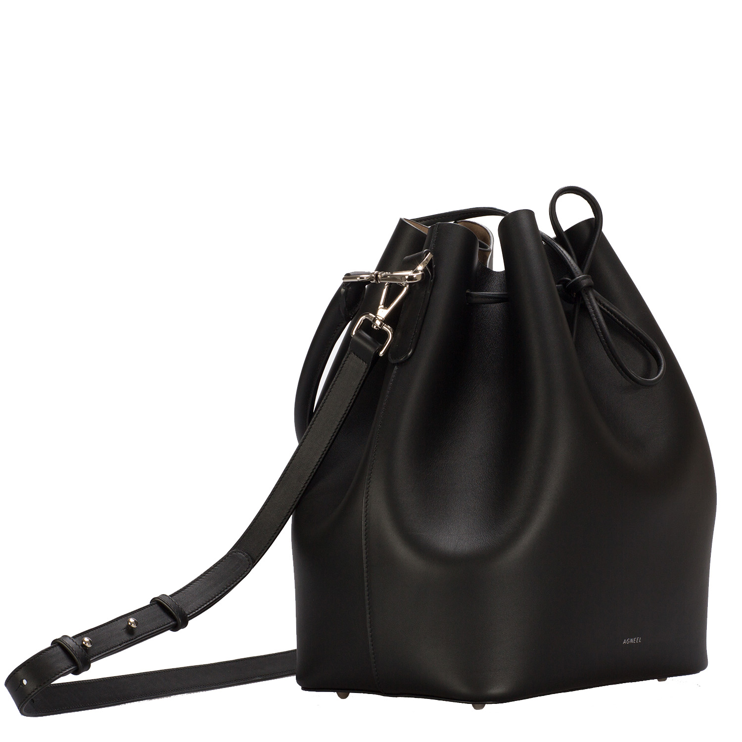 ALESSA DRAWSTRING BAG IN BABY-CALFSKIN