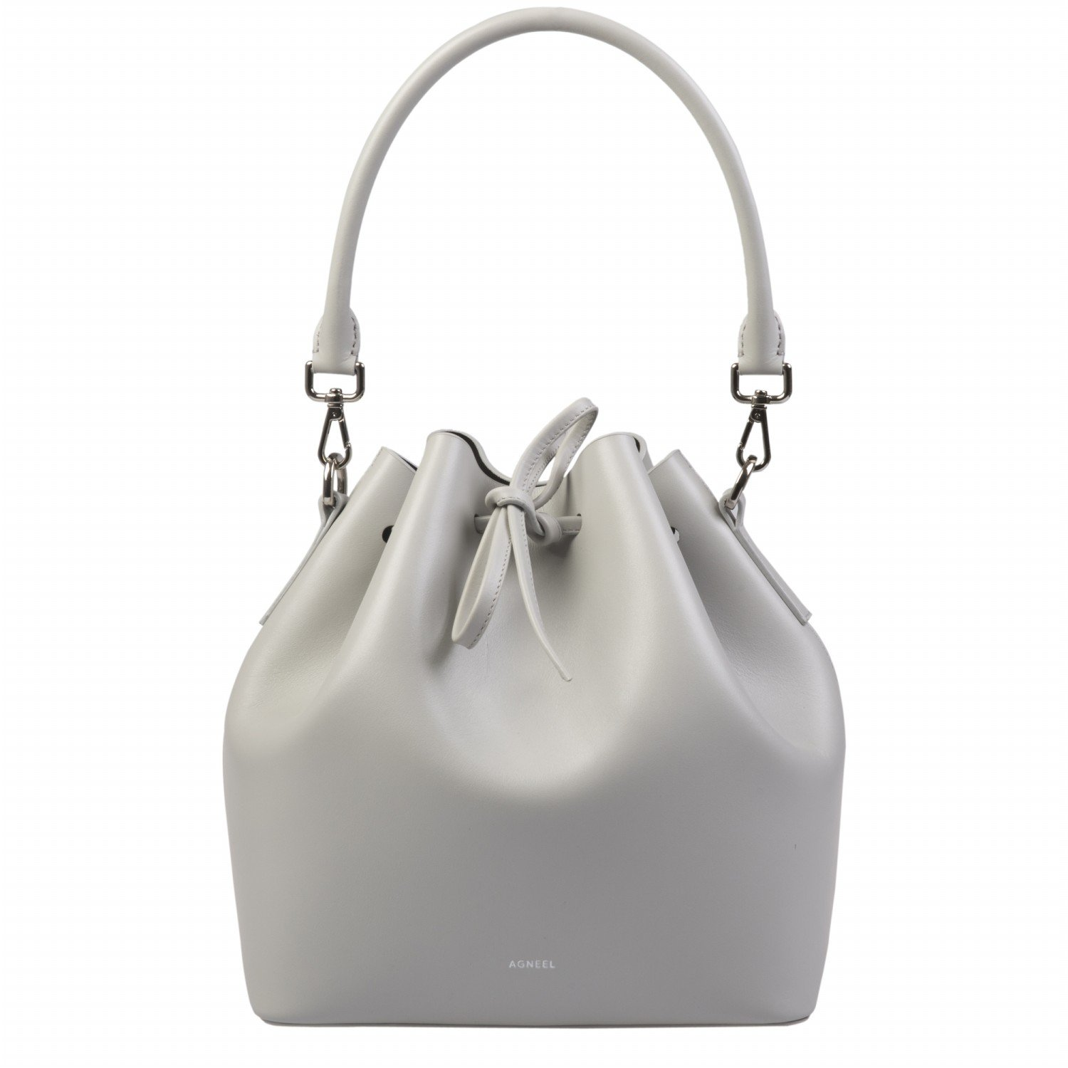 ALESSA DRAWSTRING BAG IN CALF LEATHER