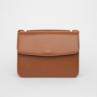 BELLA SHOULDER BAG IN CALFSKIN WITH BRIDGES