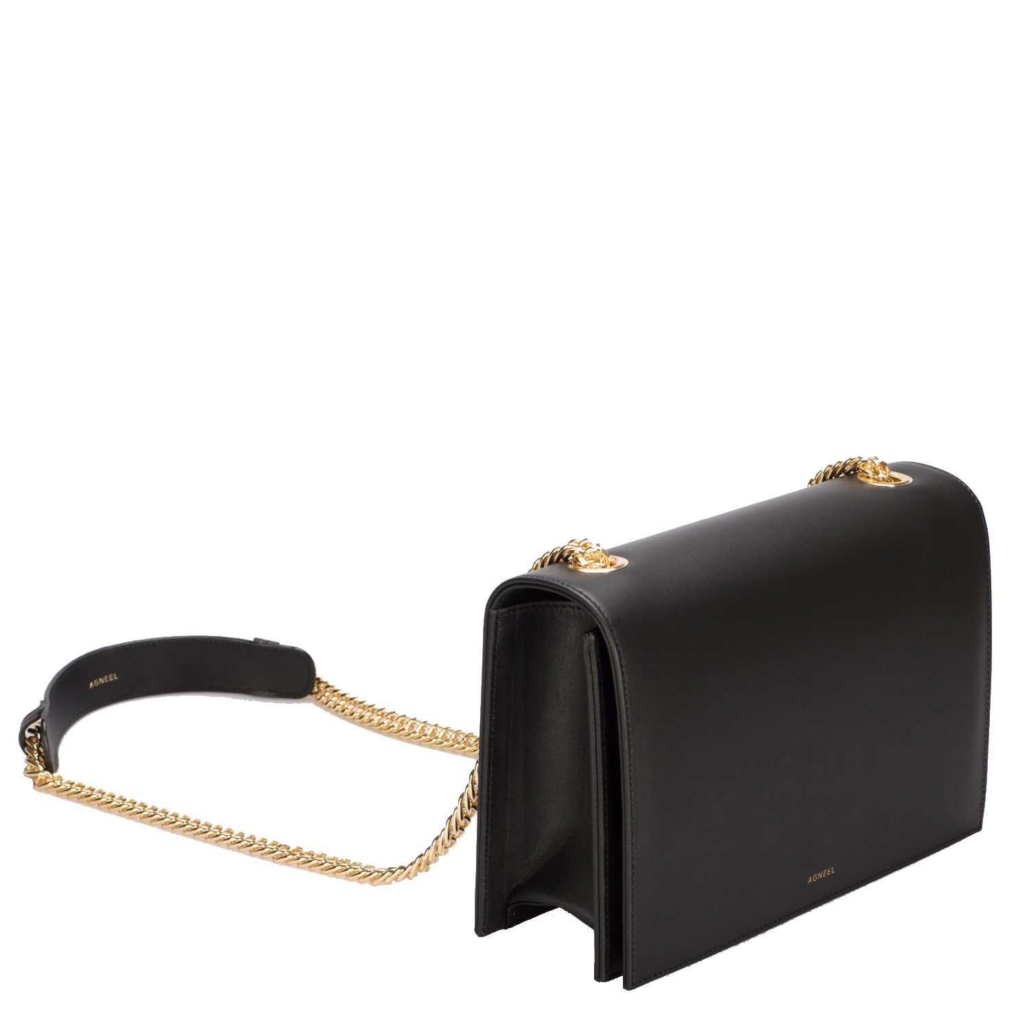 EVA SMALL SHOULDER BAG IN ITALIAN CALFSKIN