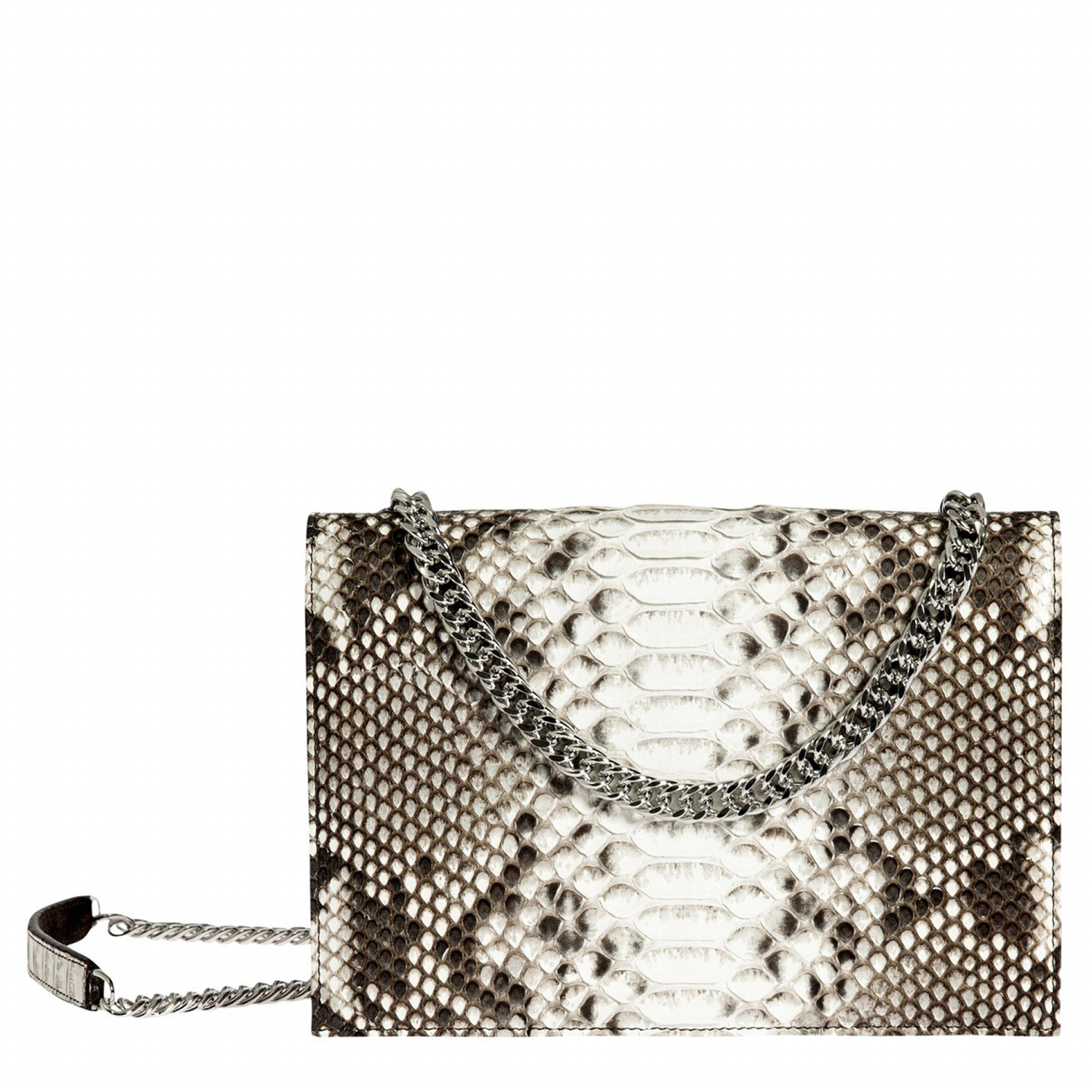 EVA SMALL SHOULDER BAG IN PYTHON