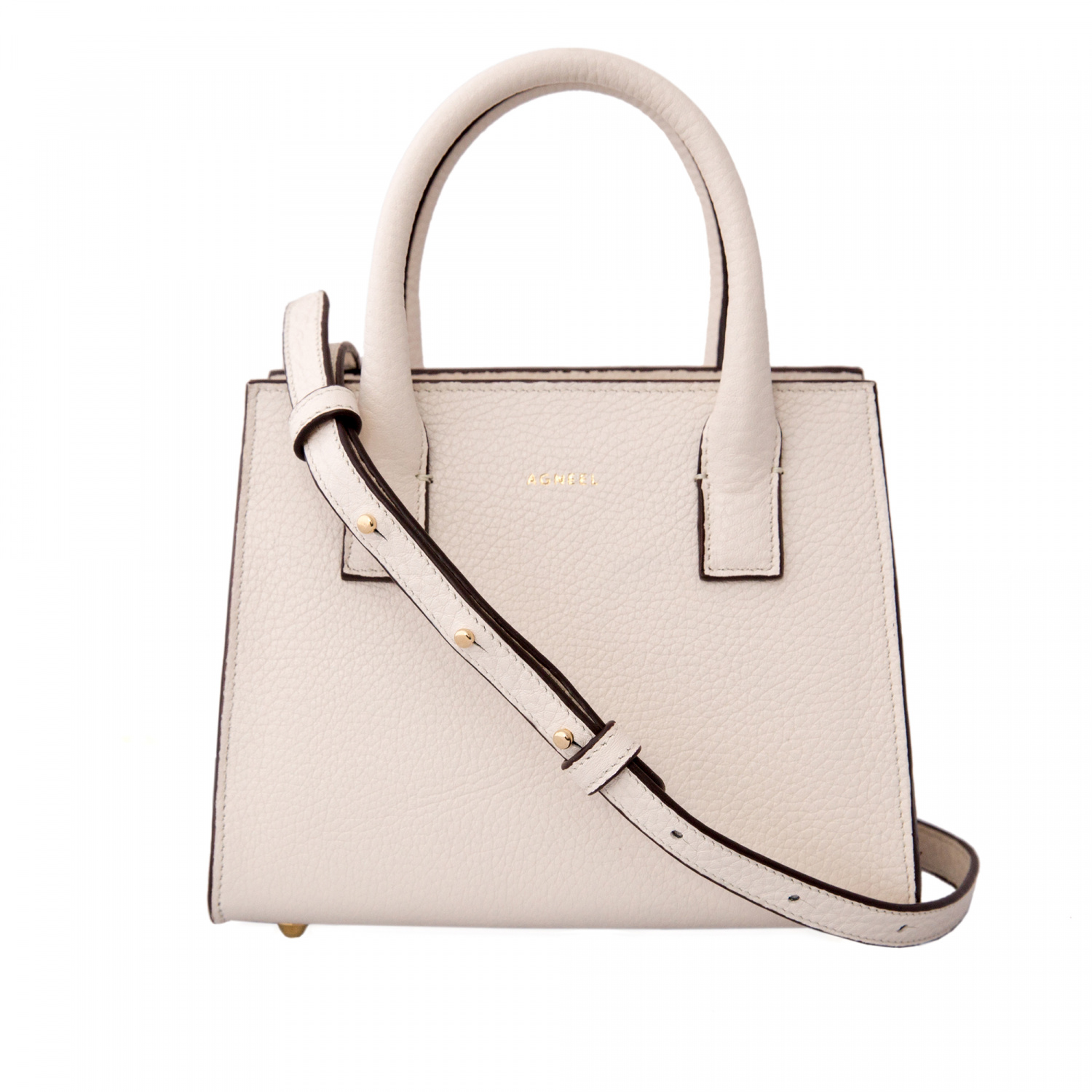 MIA MINI BAG IN STRUCTURED CALF LEATHER