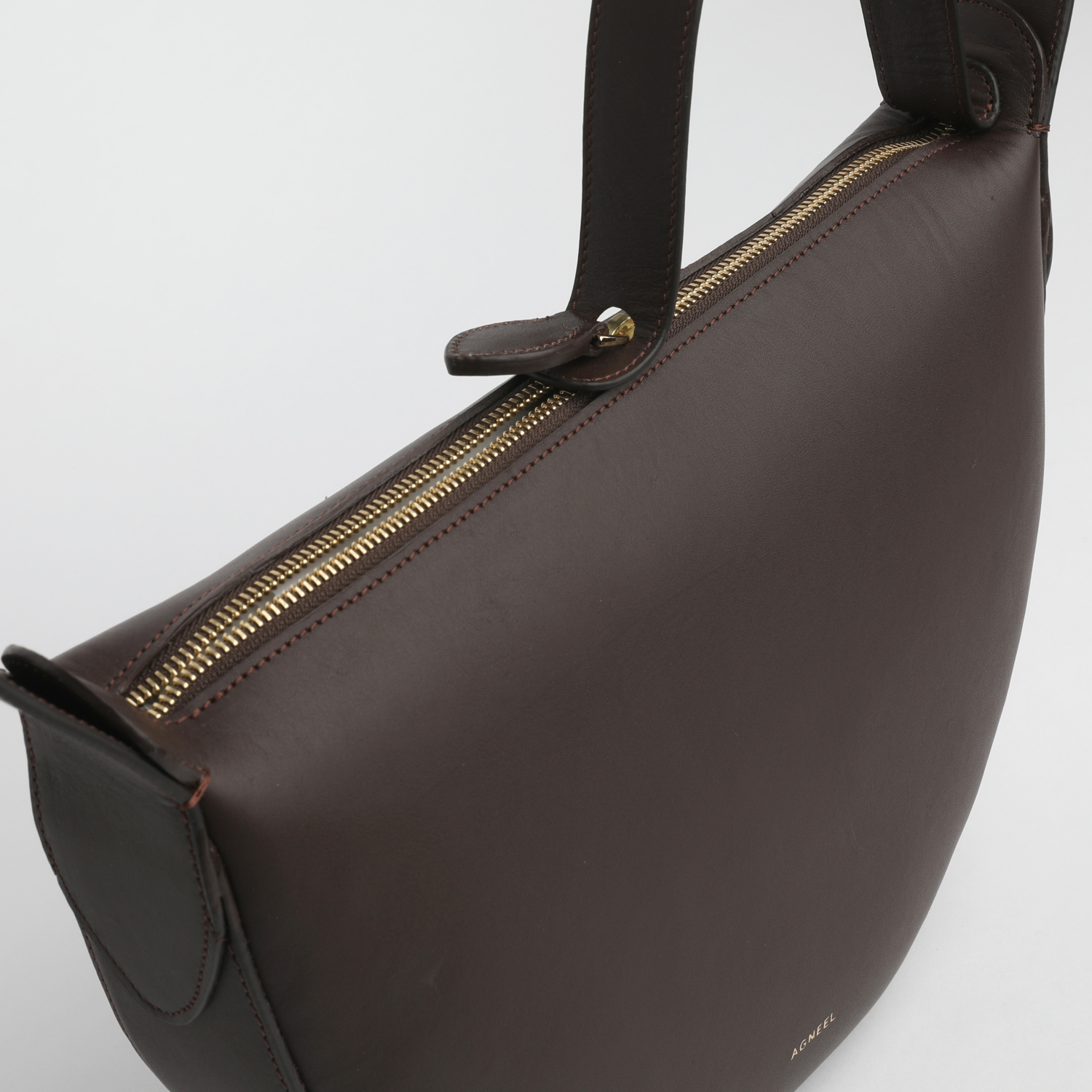 MONA HALF-MOON BAG IN CALFSKIN