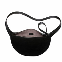 MONA HALF-MOON BAG IN COW LEATHER